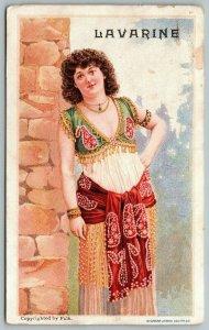 San Francisco CA~John Horstman's Lavarine~1890 Mechanics Fair Best~Lady~Adv VTC