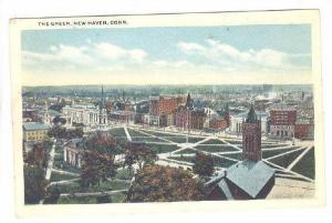 The Green, New Haven, Connecticut, 1910-1920s
