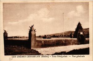 CPA Les CHERES CHASSELAY Tata Senegalais-Vue générale (443779)