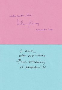 Paul Atterbury Hilary Kay The Antiques Roadshow 2x Large 2006 Autograph s