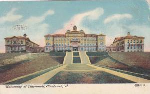 Exterior,  University of Cincinnati,  Cincinnati,  Ohio,  PU_1907