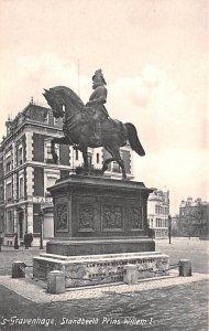 Standbeeld Prias Willem I Gravenhage Holland Unused