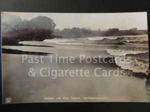 Old RPPC Gainsborough: Eagre on the Trent
