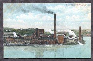 4874 - Canada ST JOHN NB c1907-10 Paper Mill Postcard