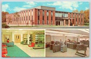 Newington CT~Inside & Out~American Radio Relay League~Desk Clerk~Equpment~1960s
