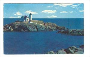 Nubble Light House, York Beach, Maine, PU-1964