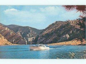 Pre-1980 BOAT SCENE Between Great Falls & Helena Montana MT AF3897