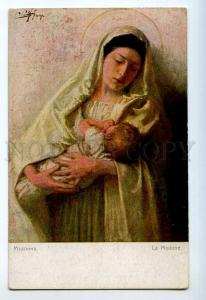 248798 WWI Russia Madonna Vintage Richard #1530 postcard
