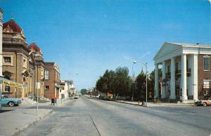Boonville Missouri Downtown Section Street View Vintage Postcard K670849