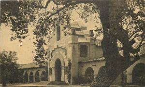 Tijuana Mexico~Hot Spring~Hotel Agua Caliente~Old Mexico~1930s Litho Postcard