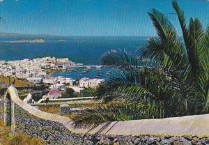 Greece View Of Moconos