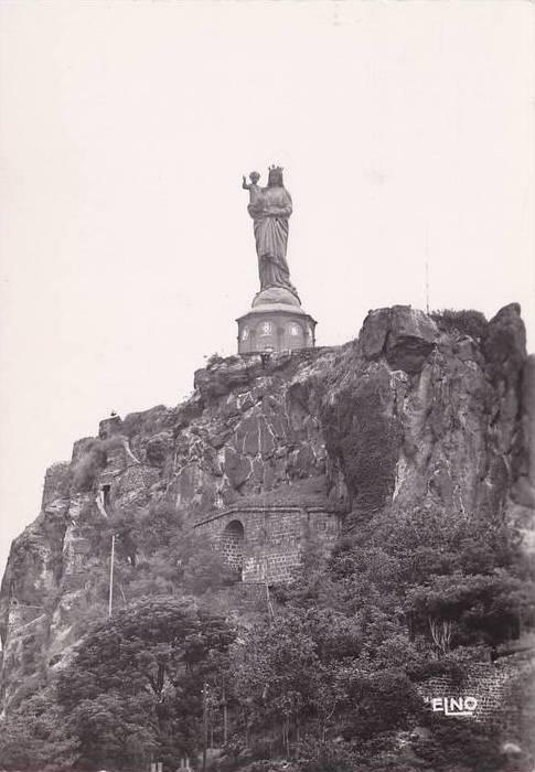 RP; LE PUT-EN-VELAY, Statue Colossale de Notre-Dame, Haute-Loire, France, 10-20s