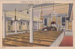 Virginia Alexandria Christ Church Interior