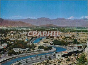 Postcard Modern Afghanistan General View of the City of Kabul