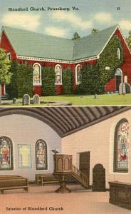 VA - Petersburg, Blandford Church