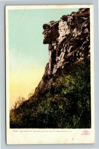 White Mountains NH-New Hampshire Old Man Of The Mountains Vintage Postcard