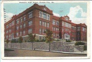 Kansas City, MO - Westport High School - 1931