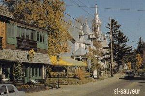 ST. SAUVEUR, Quebec, 1950-60s; Centre-Ville