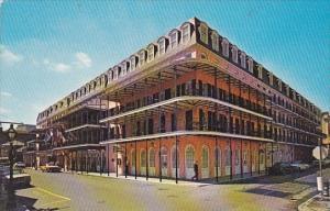 The Inn On Bourbon Street Bourbon And Toulouse New Orleans Louisiana