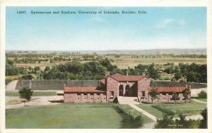 Boulder Colorado 1920s Gymnasium Stadium University of Colorado HTTCO 5606