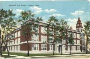 Ypsilanti High School, Ypsilanti, Michigan, 1900-1910s