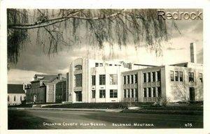 MT, Bozeman, Montana, High School, No. 675, RPPC