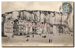 Treport - Les Villas de la Plage - Old Postcard