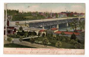 PHILADELPHIA, Pennsylvania, PU-1905; Girard Avenue Bridge, Fairmount Park