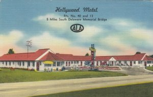 NEW CASTLE , Delaware , 30-40s ; Hollywood Motel