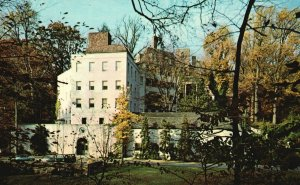 Vintage Postcard Winterthur Museum American Decorative Arts Wilmington Delaware