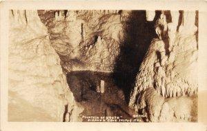 G77/ Jasper Arkansas RPPC Postcard c20s  Diamond Cave Fountain of Youth 1