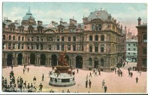 UK, The Exchange, Liverpool, early 1900s unused Postcard