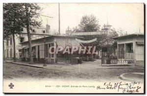 Vichy-Entree Park Lardy-Allier-Old Postcard