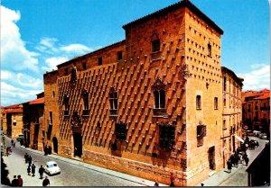 Salamanca House of Shells vtg postcard Spain