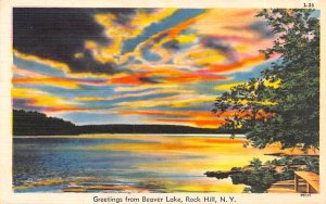 Greetings From Rock Hill, New York Postcard