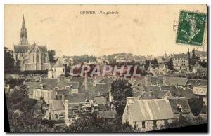Postcard Old Quintin Vue Generale