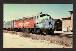 IL Rock Island Pacific RR Train BLUE ISLAND ILLINOIS PC