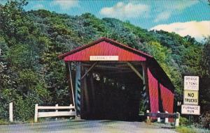 Ohio Boston Township Everett Road Covered Bridge
