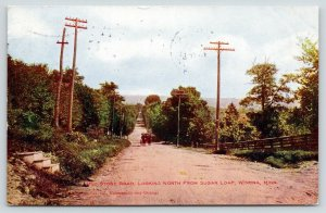 Winona Minnesota~Horse & Buggy on Old Stone Road North @ Sugar Loaf~1908