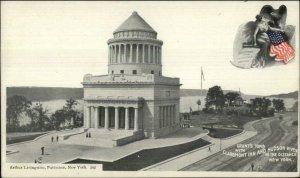 New York City Grant's Tomb c1900 Arthur Livingston Postcard