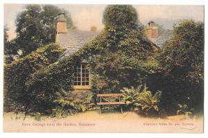 UK Grasmere Dove Cottage Wordsworth Home Vintage Postcard