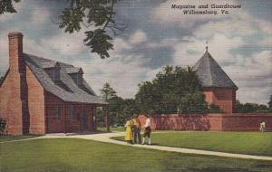 Magazine And Guardhouse Williamsburg Virginia