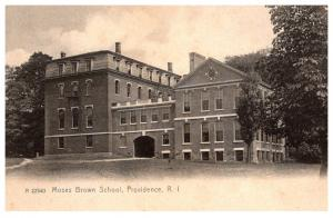 Rhode Island  Providence , Moses Brown School