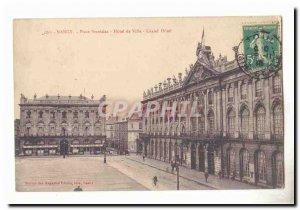 Nancy Place Stanislas Postcard Old City Hall Grand hotel