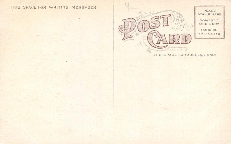 Louisville KY~Vintage Cars Raise Dust Around Circle Drive~Homes~1908 Postcard