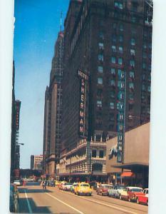 1950's SHERMAN HOTEL & BUS TERMINAL Chicago Illinois Illinois IL j6186