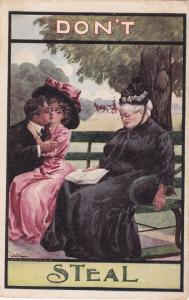 Don't Steal - Romance Humor - pm 1912 at Friendship NY