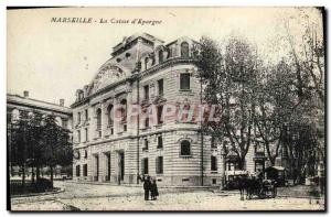 Old Postcard Marseille The case of & # 39epargne