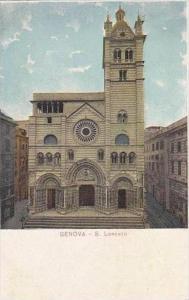 Italy Genova S Lorenzo