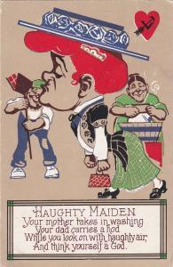 VALENTINE'S DAY ; Haughty Maiden Poem, 1910
